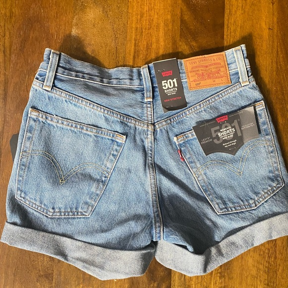 Brand new with tags Levi's shorts
